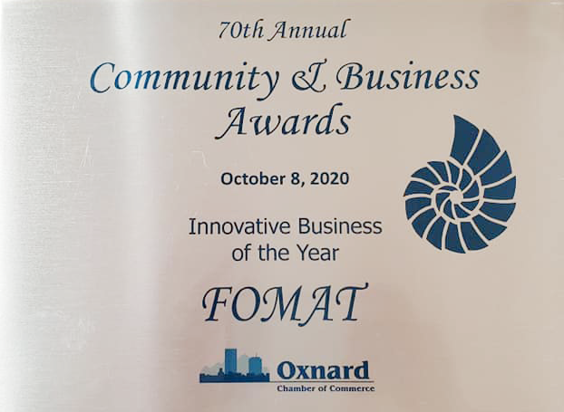 """FOMAT Medical Research awarded as """"Innovative Company of the Year"""""""